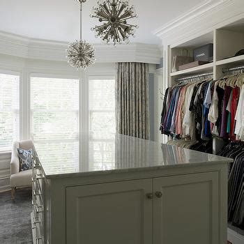 Closet Bay by Curtain Rods Crown Molding Design Ideas