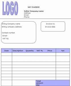 invoice template vat uk hardhostinfo With vat invoice template uk