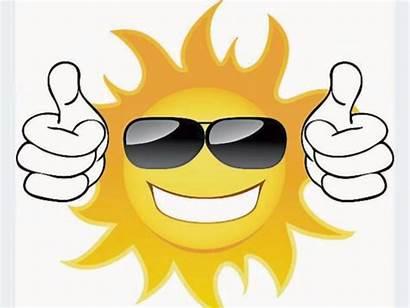 Sunshine Weather Weekend Forecast Sun Shining Warm