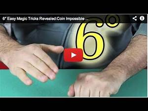 6° Easy Magic Tricks Revealed:Coin Impossible Vanish - YouTube