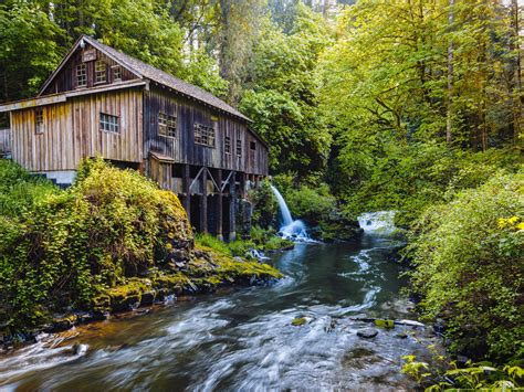 Mill Mountain River And Historical Trends Hd Desktop ...