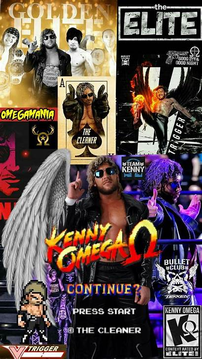 Njpw Mobile Wallpapers Kenny Phone Omega