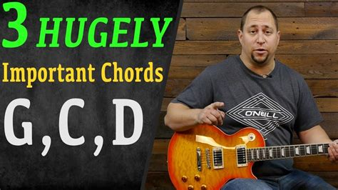 (20+) 3 Chord Songs Using G, C, and D • Play Guitar!