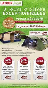 Du 3 au 11 octobre, semaine de la caravane pliante Cabanon chez Latour Latour