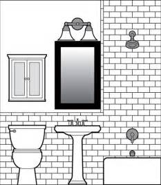bathroom wall tile design looking for an easy tile drawing software program