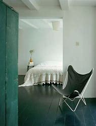 Painted Wood Floors Bedroom