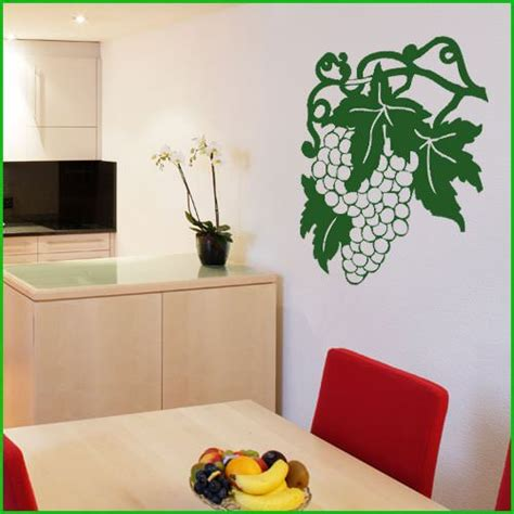 destock cuisine stickers grappe de raisin 022 deco cuisine destock