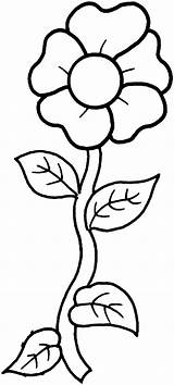 Flower Printable Coloring Pages Flowers Colouring Template sketch template