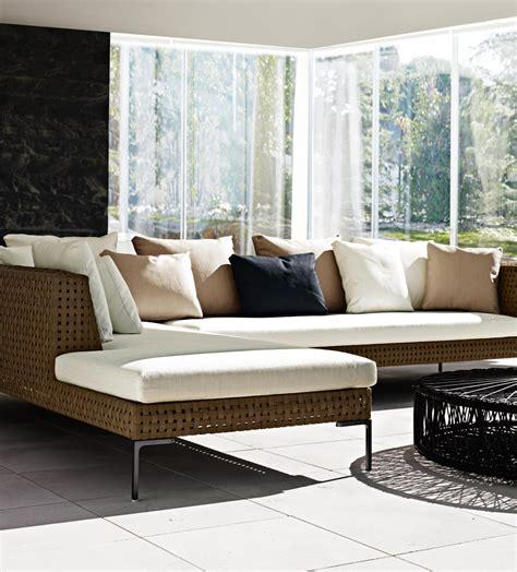 canapé b b italia charles outdoor divano angolare by b b italia outdoor a