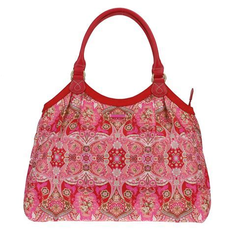 Oilily Summer Mosaic Shopper Strawberry Oilily Taschen