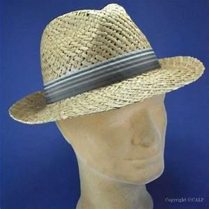 Chapeau De Paille Homme : chapeaux paille pour hommes achat en ligne de chapeau de ~ Nature-et-papiers.com Idées de Décoration