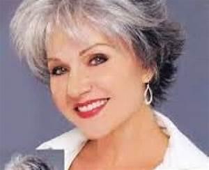 Coupe Cheveux Gris Femme 60 Ans : coupe cheveux gris femme 60 ans coiffures la mode de ~ Voncanada.com Idées de Décoration