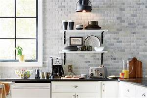 Modern farmhouse kitchen the home depot for Kitchen colors with white cabinets with sesame street wall art