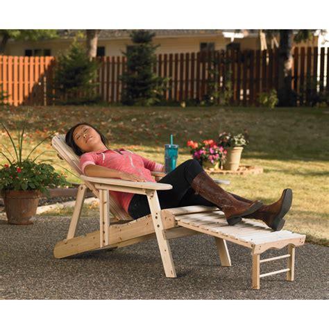 stonegate designs adjustable wooden adirondack chair