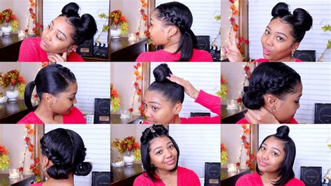 10 Quick And Easy Hairstyles Shoulder Length Hair Youtube