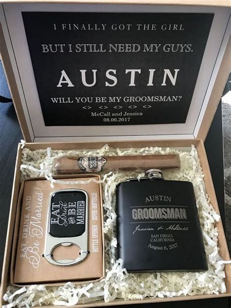 man  groomsmen proposal ideas emmalovesweddings