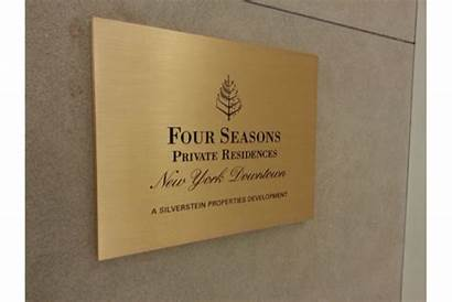 Engraved Metal Plaques Etched Bronze Brass Aluminum