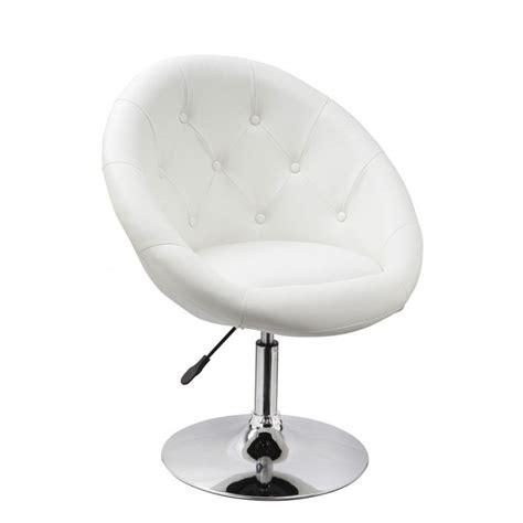 le de bureau blanche fauteuil oeuf capitonné design cuir pu chaise bureau blanc