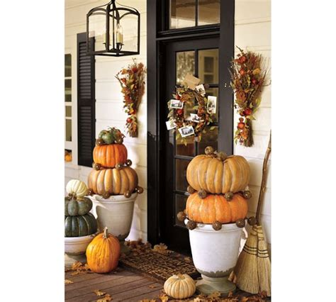 pottery barn fall decor decorating your outdoor entry for fall driven by decor