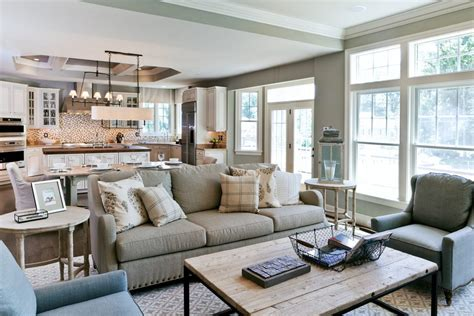 Open Concept Kitchen Living Room Kitchen Contemporary With