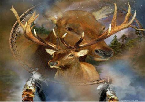 Spirit Animal Wallpaper - spirit of the elk deer animals background wallpapers
