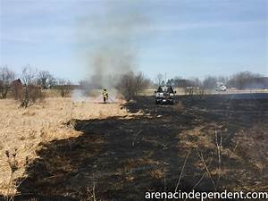 Four-acre grass fire causes no injuries, minor structure ...