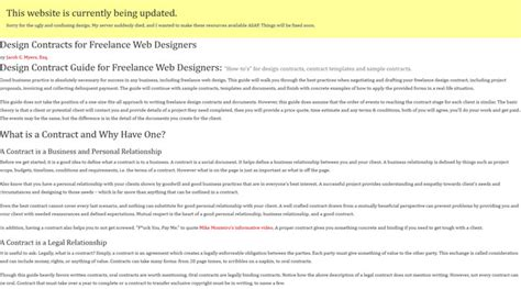 web design contract how to a design contract with your clients