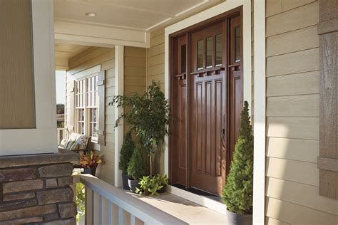 pella front door adds tremendous curb appeal