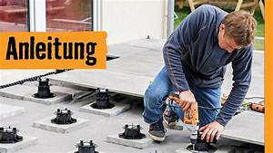 Feinsteinzeug Auf Splitt Verlegen : feinsteinzeug terrasse bauen hornbach meisterschmiede youtube ~ Markanthonyermac.com Haus und Dekorationen