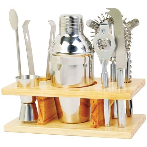 stainless steel drink mixer set cocktail bar accessories
