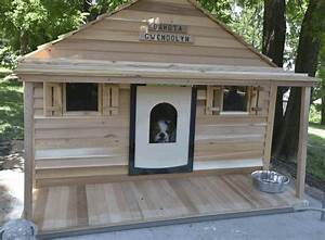 Extra large dog house plans with porch escortsea for Large insulated dog house