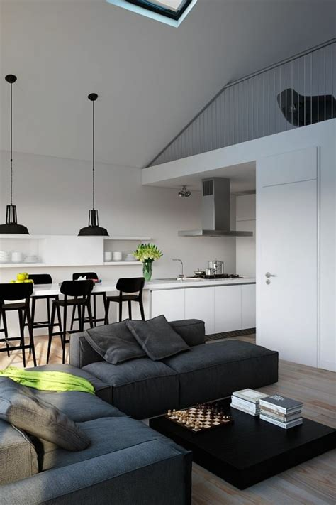 sol vinyle cuisine quelques exemples de joli aménagement de cuisine ouverte