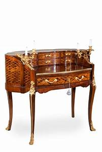 Louis xv rococo furniture and decorative arts rococo for Antique furniture desk