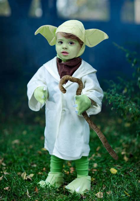 Baby Yoda Costume - Child Toddler Star Wars Yoda Jedi Costumes