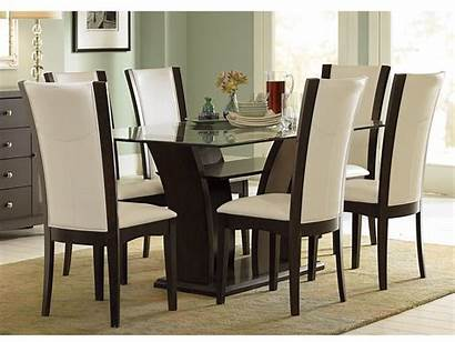 Dining Glass Contemporary Interior Chairs Setting Paint