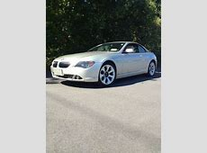 Find used 2004 BMW 645Ci Base Convertible 2Door 44L in