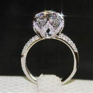 best 4 carat diamond engagement ring products on wanelo With 4 carat wedding rings
