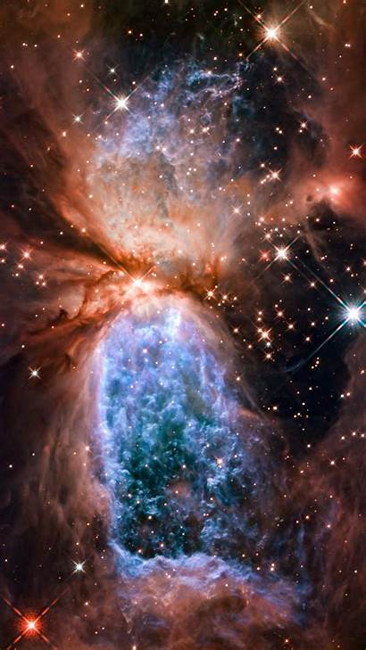 Space Galaxy Portrait Vertical Display Background Wallpapers