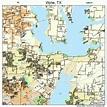 Wylie Texas Street Map 4880356