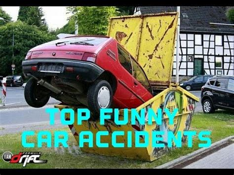 Funny car accidents 2017 | Funny car crashes | Funny ...