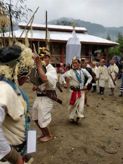 Pradesh Arunachal Festival Nyishi Tribe India Animals