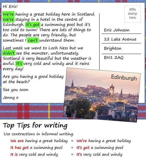 postcard  scotland learnenglish teens british