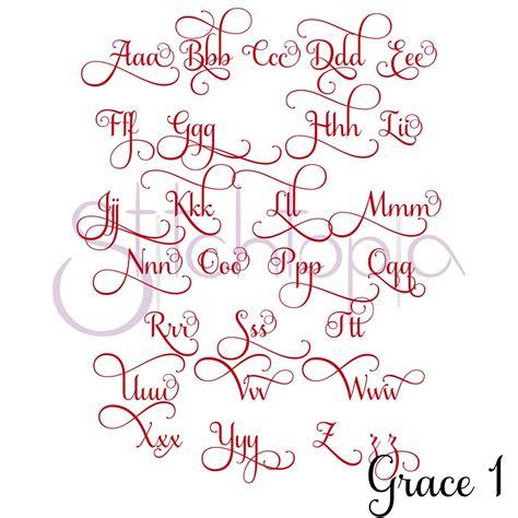 grace embroidery font bundle      stitchtopia