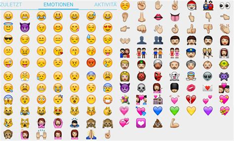 emotionen threema  whatsapp