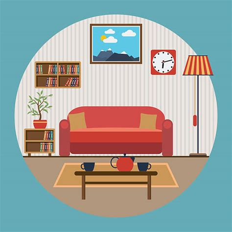 Living Room Clipart Living Room Clipart Lounge Pencil And In Color Living