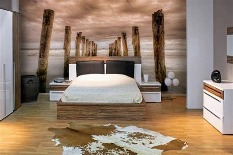 papier peint design chambre papier peint chambre izoa