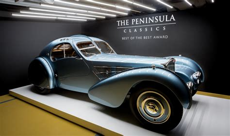 "Ultimatecarpage.com > cars by brand > france > bugatti type 57 sc atlantic coupe. $40M Bugatti Type 57SC Atlantic wins the Peninsula Classic ""Best Of The Best"" award"