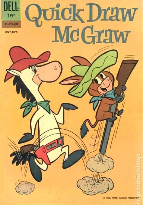 quick draw mcgraw  dellgold key comic books