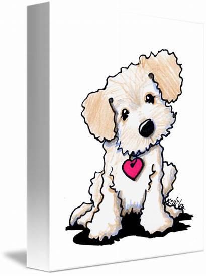 Doodle Goldendoodle Golden Clipart Silhouette Dog Puppy