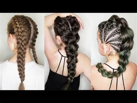 Braided Hairstyles by 10 Amazing Braided Hairstyles Tutorials Cool Braids That